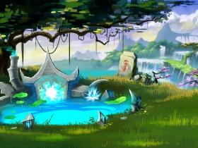 《仙剑诀》游戏原画集