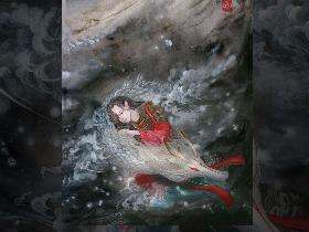 水彩-一目连