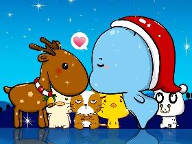 蓝尼可丨圣诞节快乐