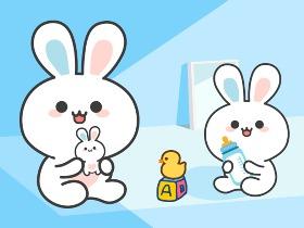微信表情包《波斯兔第一季》