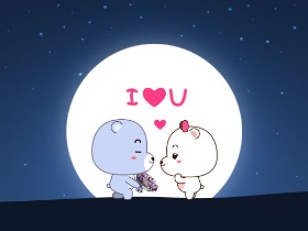 小熊男女表情5——爱情篇