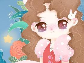 安吉拉的小情绪系列插画