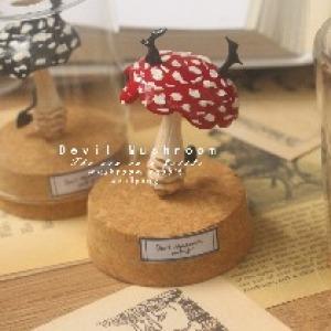 原创手作  小恶魔系列红蘑菇