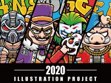 2020 部分插画项目作品合集(一)