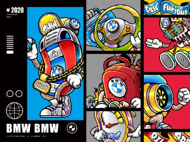 2020 BMW|宝马IP形象设计