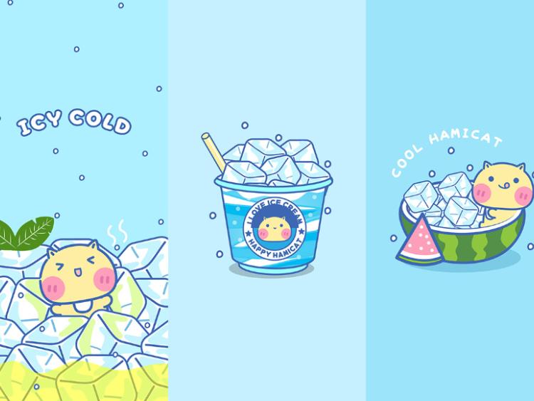 哈咪猫冰凉一夏